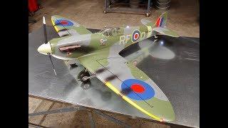 Avios Spitfire MkVb Super Scale 1450mm ETO Scheme Warbird (PNF) Unboxing