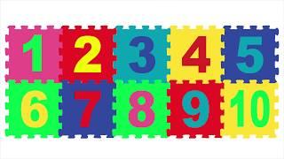 GIOCA e IMPARA i NUMERI per BAMBINI coi PUZZLE | Impara l'italiano | Learn italian