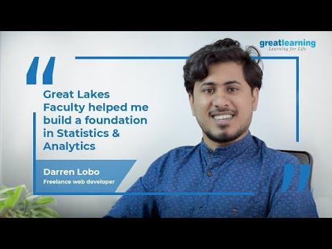 Great Lakes Big Data and Machine Learning Program Experience   Darren Lobo