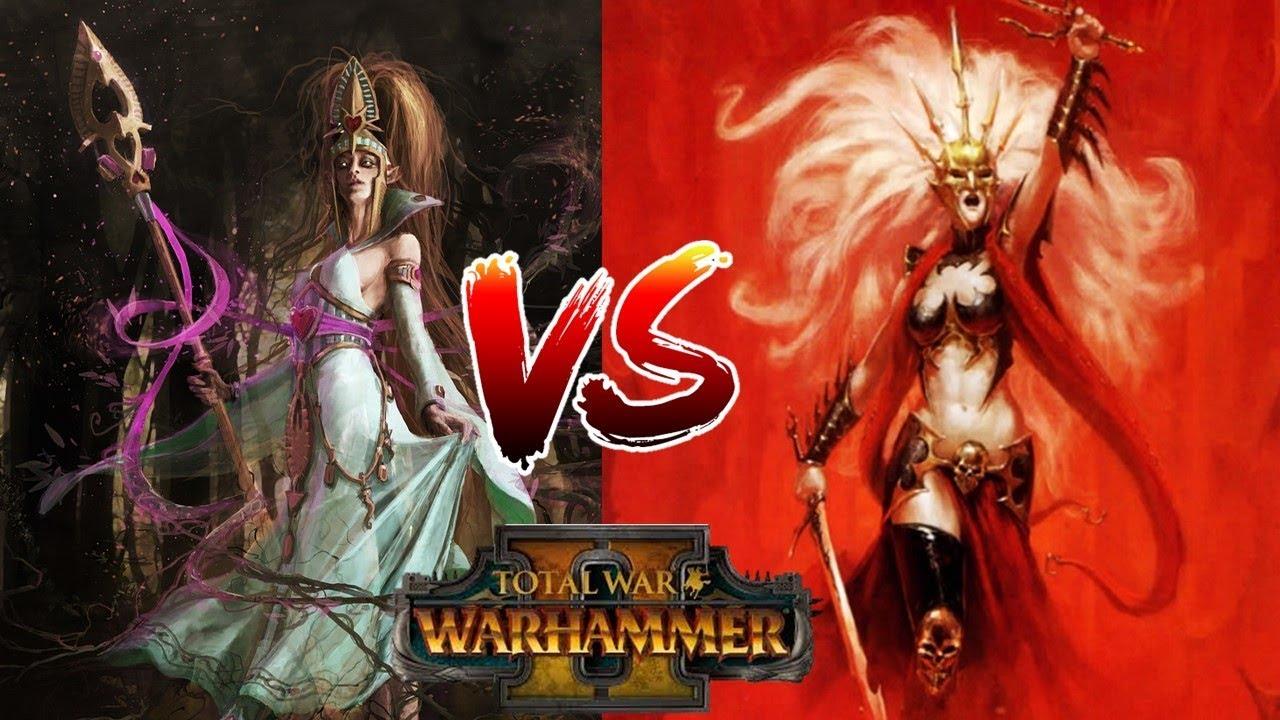 total war warhammer ii - the queen & the crone dlc