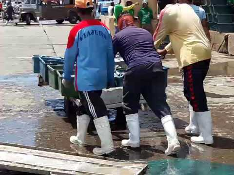 Gensan public fish port part 2