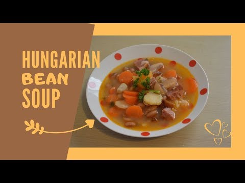 Hungarian Bean Soup With Ham Hock I Csulkos Bableves Recipe