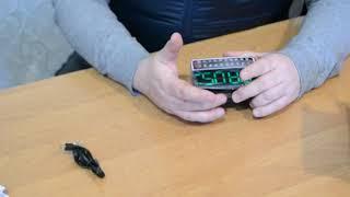 Портативна колонка годинник MP3 плеєр Спартак WS 1513 Black