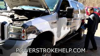 POWERSTROKE ENGINE SKIP   RUNNING ROUGH