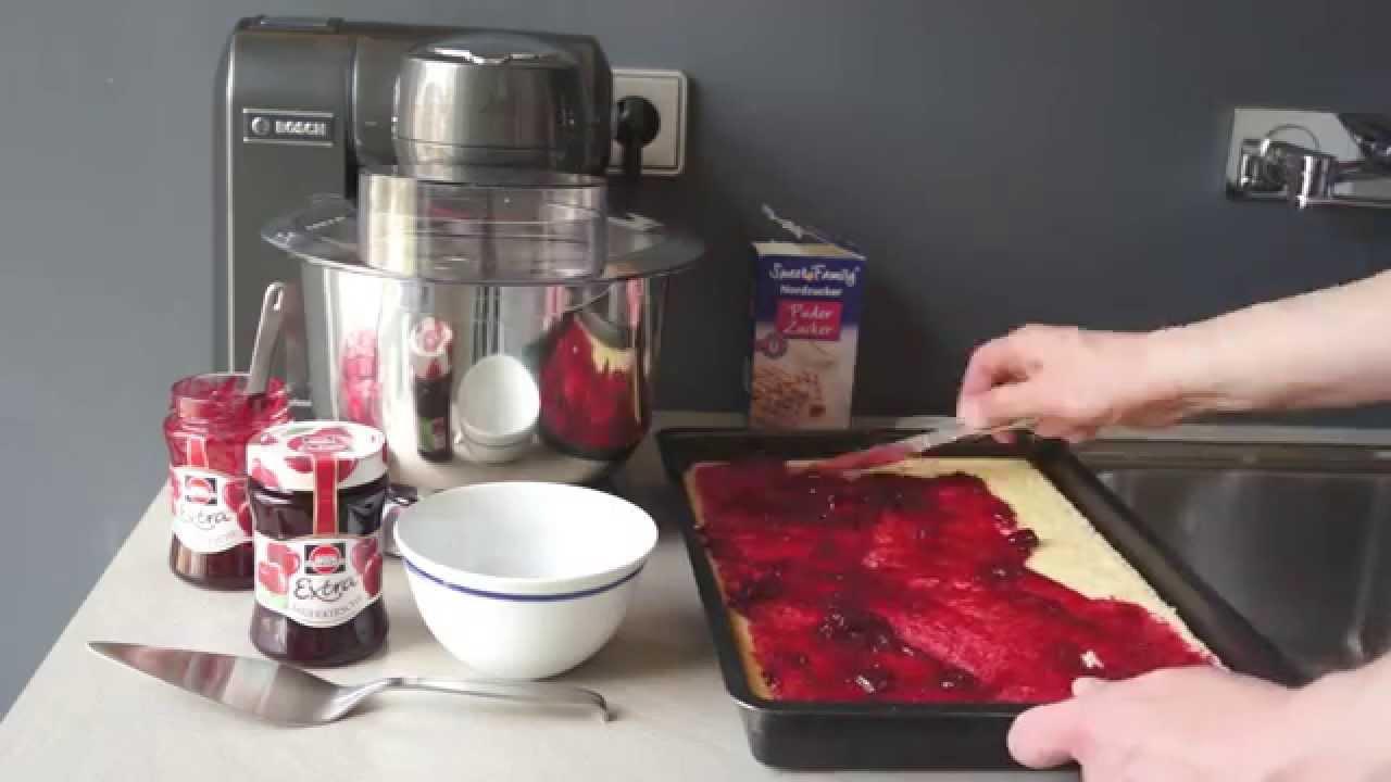 lpg-kuchen: was die bosch mum 8 nicht gut kann - youtube - Bosch Mum Küchenmaschine