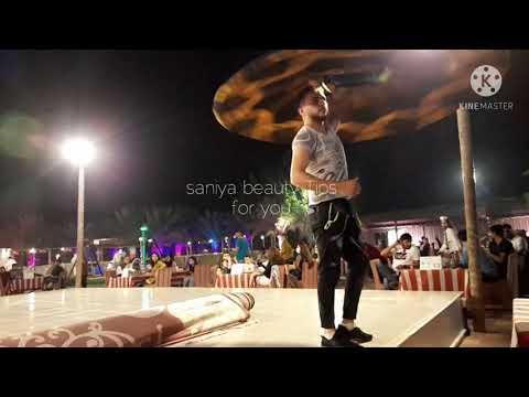 Tanoura dance in desert camp dubai 2021