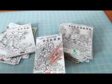 Yugioh Duel Monsters Handmade cards :)