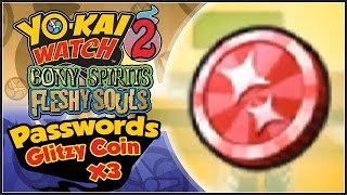 In Yo-Kai Watch 2, Abdallah provides ALL 3 Glitzy Coin Passwords to...