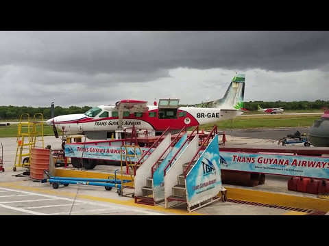 Trans Guyana Airways Charter Flight Departs Georgetown (OGL) for Kaieteur National Park (KAI)