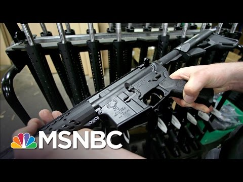 Orlando Killer's Gun Popular For Ease Of Use, Light Weight, And Adaptability | Rachel Maddow | MSNBC