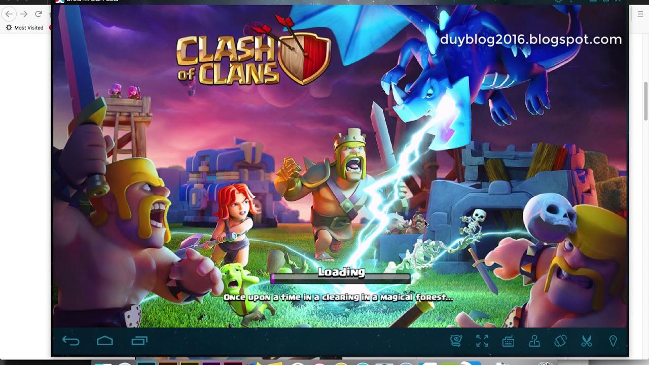 Cách chơi Clash Of Clan trên máy tính bằng Droid4x cực đơn giản