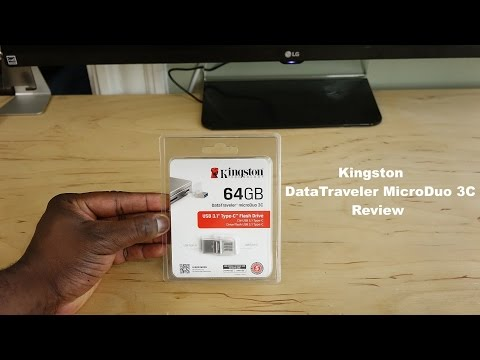 "Kingston Datatraveler MicroDuo USB 3C Review: Great for the 12"" Macbook"