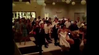 Wedding Party Cotton Eyed Joe line dance- Wedding Music Charleston