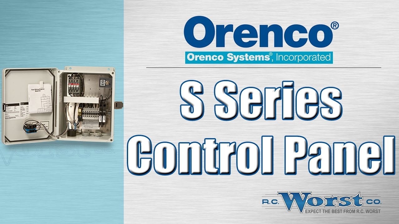 orenco s series control panels  control panels for wastewater systems