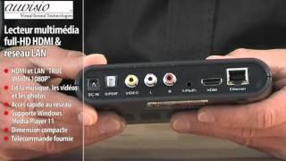 LECTEUR MULTIMÉDIA FULL HD HDMI & RÉSEAU LAN