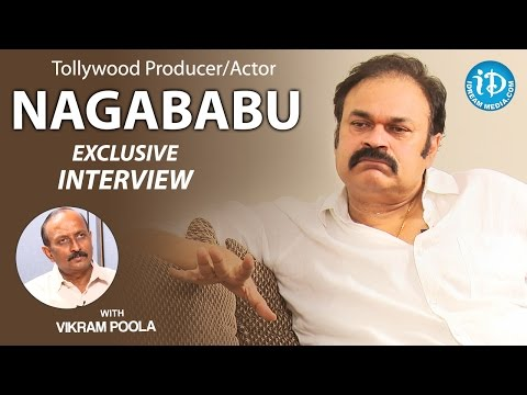Actor & Producer Naga Babu Exclusive Interview || Talking Movies With iDream #273