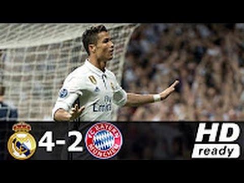 Real Madrid Vs Bayern Munich 4 2 All Goals Champions