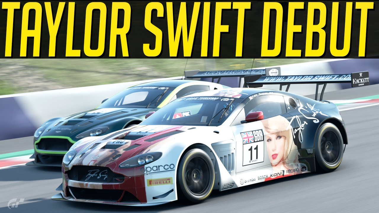 Gran Turismo Sport: My Debut for Taylor Swift Racing