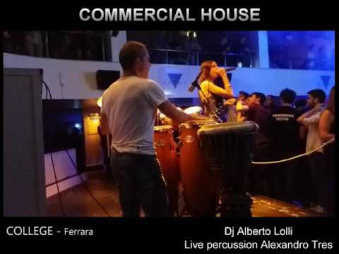House Music - live percussion by Alexandro Tres