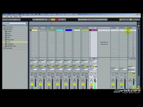 Ableton Tutorial: Deep/Tech House Tutorial - How to make a House Beat in Ableton (HC - Ep1)