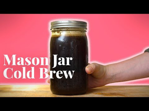 Easy Homemade Cold Brew Coffee with Espresso Shot Ice Cubes