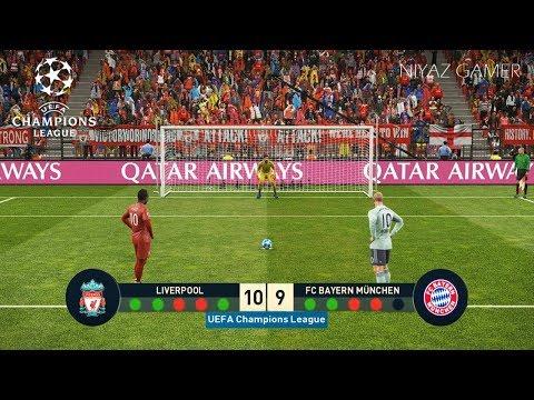 LIVERPOOL vs BAYERN MUNICH   UEFA Champions League - UCL   Penalty Shootout   PES 2019