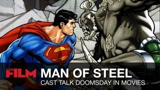 Zack Snyder And Man Of Steel Cast On Superman Villain Doomsday