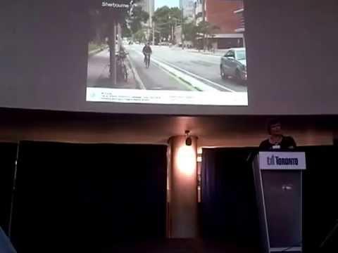 HiMY SYeD -- Adelaide-Richmond Cycle Track Study Presentation Toronto City Hall Rotunda June 25 2013