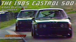 The 1985 CASTROL 500 - A Race of Attrition at Sandown