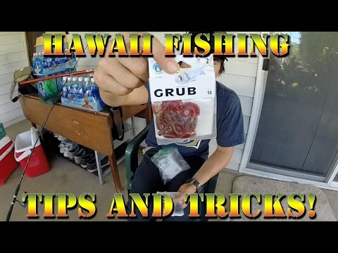 How To Fish Saltwater In Hawaii - Whipping and Bobber Rig Tutorial - Braddahs Fishing Tips & Tricks