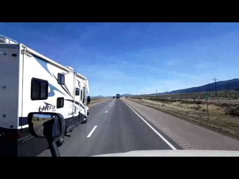 Bigrigtravels Live! - Enoch to Levan, Utah - Interstate 15 - March 13, 2017
