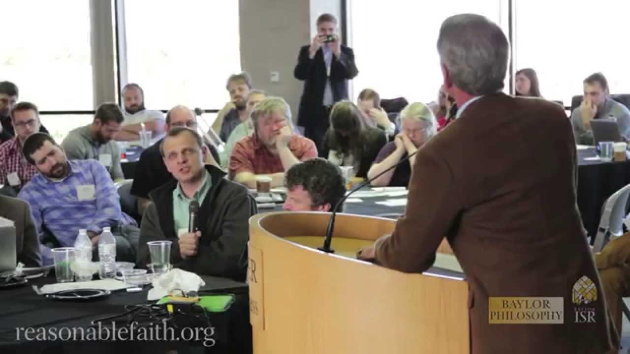 Dr. Alexander Pruss Questions Dr. Craig