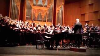 vuclip UTSA Choirs Singing Les Misérables Medley || April 2013