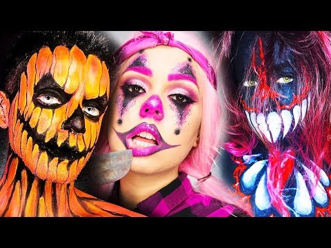 20 Scary DIY Halloween Makeup IDEAS + VENOM DIY Costume 2018
