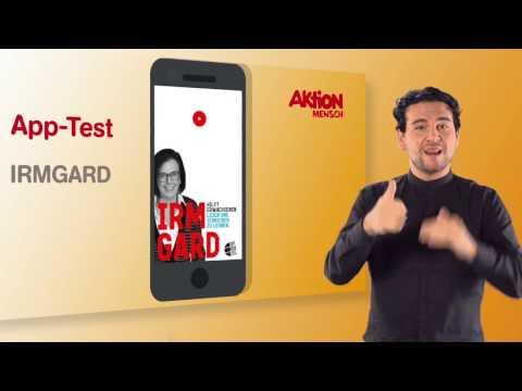 App im Test: Irmgard (Deutsche Gebärdensprache)