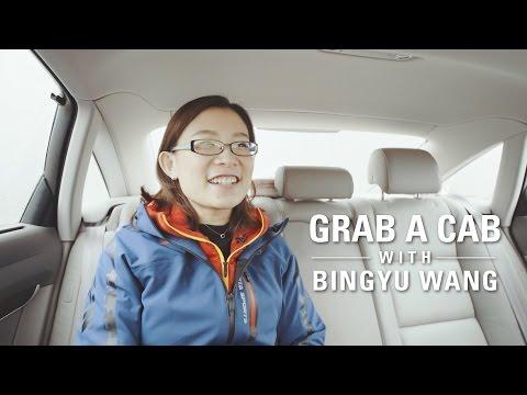 Grab a Cab with... Bingyu Wang (Team China)