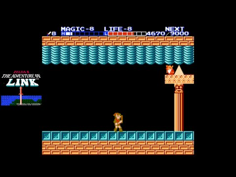 Zelda II: The Adventure of Link [NES] Playthrough #09, Great Palace