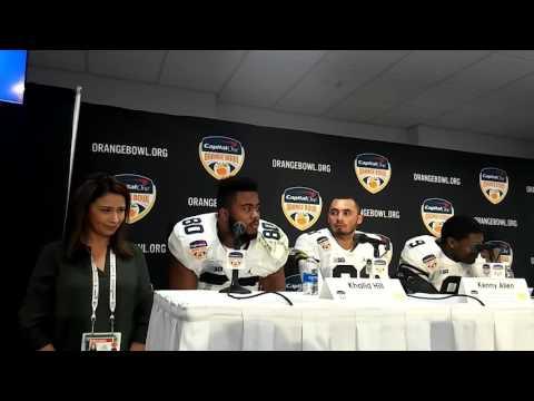 Orange Bowl: FULL Michigan Jim Harbaugh and players press conference