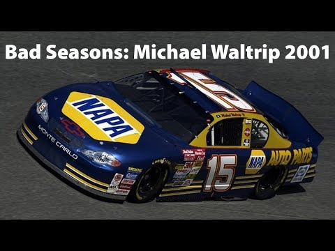 NEW DRIVERS: MICHAEL WALTRIP IS THE WORST