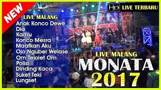 Video Full Album Monata Terbaru 2017 - Lagu Baru Monata 2017 - Live Malang 2017 download MP3, 3GP, MP4, WEBM, AVI, FLV Agustus 2017