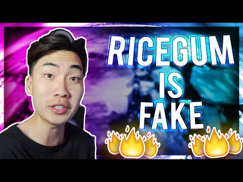 Thumbnail: Why Ricegum is such a FAKE Youtuber