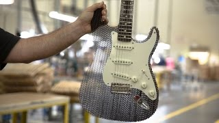 Cardboard Guitar Stratocaster Fender : Cardboard Chaos(, 2015-12-03T15:43:23.000Z)