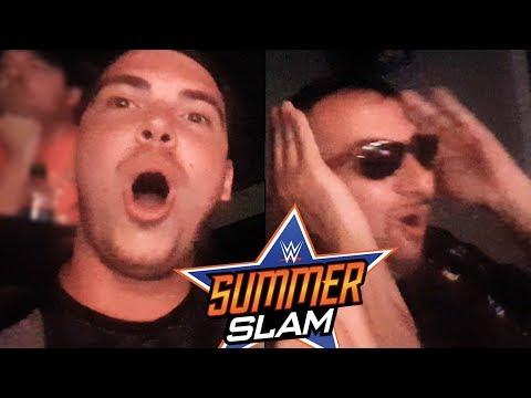 OMG BROCK LESNAR!! NON CI CREDO! - WWE SUMMERSLAM 2017 Live Reactions w/ Michele Posa