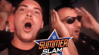 OMG BROCK LESNAR!! NON CI CREDO! - WWE SUMMERSLAM 2017 Live Reactions w/ Michele Posa