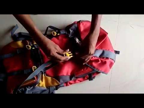 TRAWOC 55L Trekking Bag UnWrapping