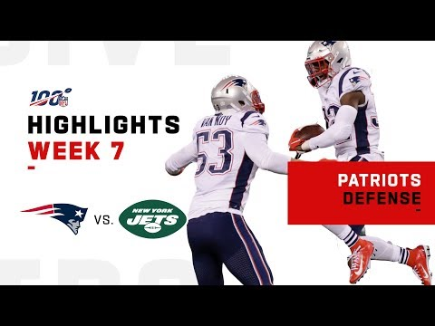 Patriots DENY Jets Takeoff w/ 4 INTs | NFL 2019 Highlights