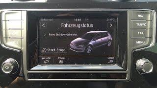 Reifenkontrollanzeige zurücksetzen VW Golf 7
