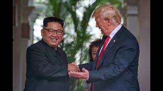 Пресс-конференция Трампа после саммита с Кимом