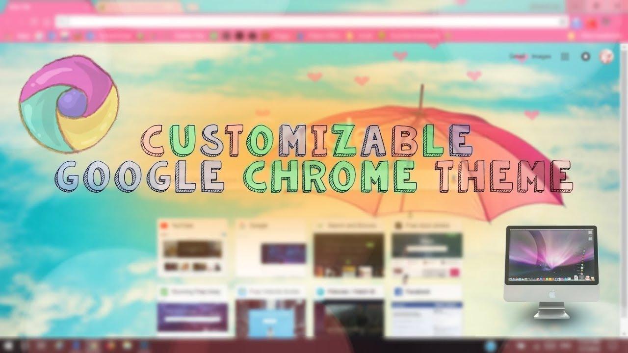 google chrome theme creator youtube