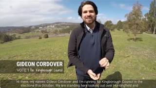 Future-focus and Innovative: Gideon Cordover for Kingborough Council